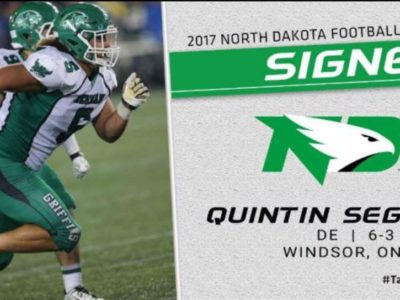 CFC100 Seguin is officially a Fighting Hawk, another one off to NCAA