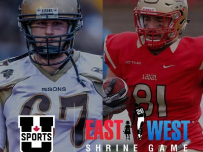 Laval's Auclair, Manitoba's Gray to play in prestigious Shrine Game today