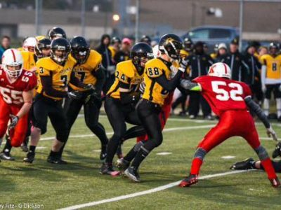Football a getaway for OLB Irandost