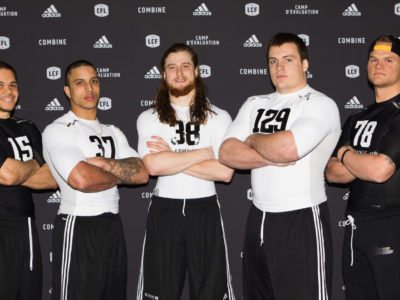 5 moving on to the CFL National combine