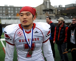 LB Yoo brings passion and versatility to Varsity Blues