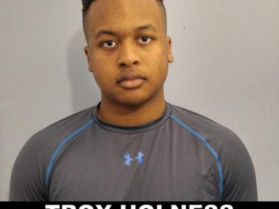 Troy Holness - Football Head Shot and Stats