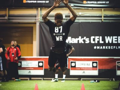 CFL [STATs]: Official combine results, draft just around the corner