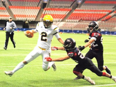 CFC100 QB Calvert pleased to be among Canada's top talent