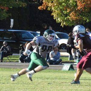 CFC100 Desrochers makes life difficult for opposing quarterbacks