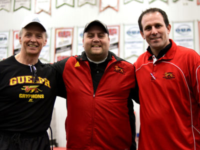 Sardo and Forsyth join the Gryphon coaching staff
