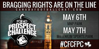 """CFCFPC Game preview (Ottawa – Grade 8 -Team Central vs. Team Halton-Peel): """"This is great for youth football in Canada"""""""