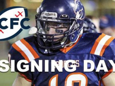 CJFL (BCFC): Signing day officially begins today