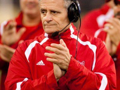 Former head coach, Sonny Wolfe, McGill Redmen