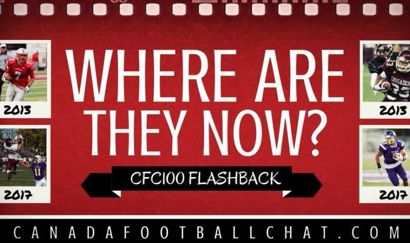 WHERE ARE THEY NOW: CFC100 Merchant found his home back in Canada after stint in NCAA