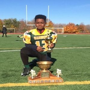 Fantuz Courage Awards: Keyshawn Manning excels in school and football with the support of family