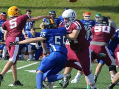 Oromocto Blue's OL Cameron Butler confident he can play the next level