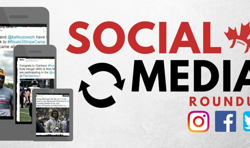 Social Media Roundup: Joseph receives high praise to go along with his official offer; Ballantyne spends some time with which OUA team?